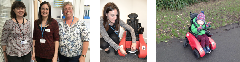 Helping young children move on their own: The Wizzybug Occupational Therapy team