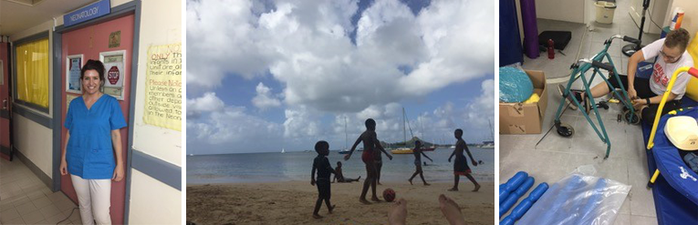 Life without the NHS: working as a therapist in StLucia
